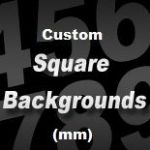 CUSTOM SIZE SQUARE STICKER BACKGROUND (mm)